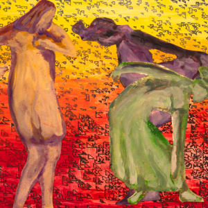 Homage To Connie - Three Dancers by Alan Powell