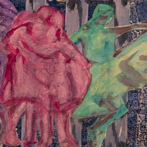 Homage To Connie - Four Dancers by Alan Powell