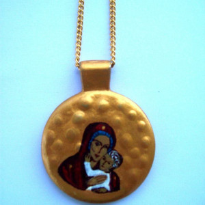 Pendant with the Holy Mother of God