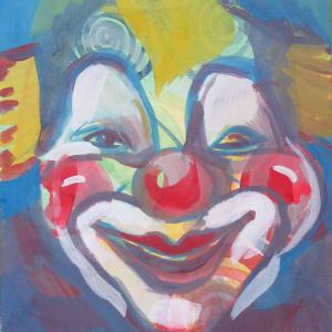 Clown by Gallina Todorova