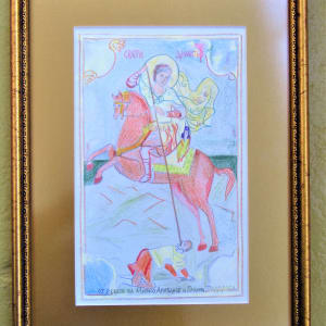 St Dimitriy of Tessaloniki 2 by Mitko Arizanov and Galina by Gallina Todorova