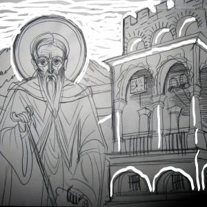 St John of Rilla -550 yrs at the Rilla Monastery