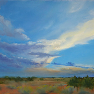 Evening Storm by Kathleen Moore