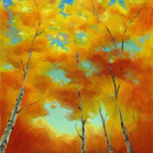 Taos Sky by Kathleen Moore