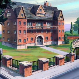 TMNT - Background Concept - Sunny Dale Clinic