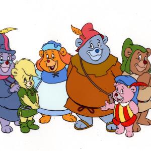 Gummi Bears - Publicity Cel - Group