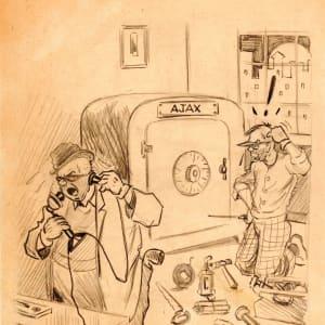 Ajax Safe - Preliminary Drawing