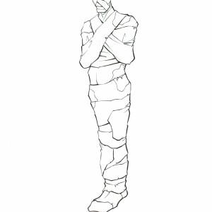Mummies Alive - Character Model - Arkah (Mummy)
