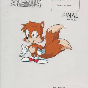 Sonic SatAM - Model Cel - Tails