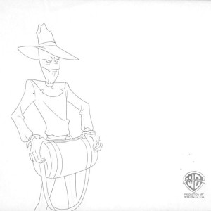 Batman: The Animated Series - Production Drawing - Scarecrow