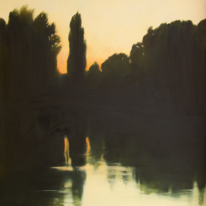 Trees on the river