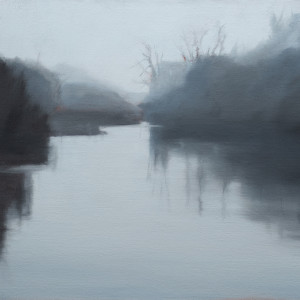 The River in Winter by Lisa McShane