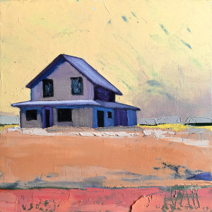 Farmhouse In Late Afternoon