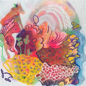Pony planet painting n06nq0