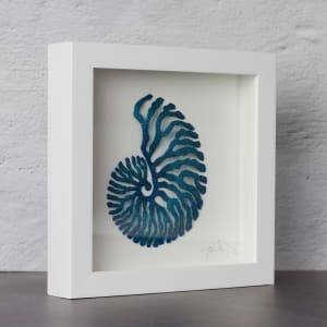 #88 Blue Nautilus by Meredith Woolnough