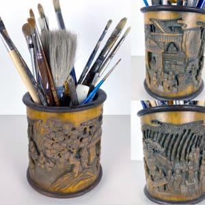 5051 - Asian Brush Pot