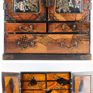 5166 - Japanese Marquetry Cabinet