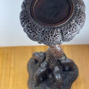 5101 - Carved Wood Pedestal
