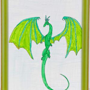 3515 Green Dragon by FamJam Studios