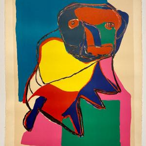 E. A. by Christiaan Karel Appel ( 1921 - 2006 )