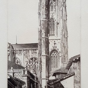2929 - Oviedo the Holy, Spain, ed 109 by John Taylor Arms (1887-1953)