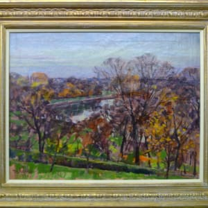 0300 - Autumn Evening, Richmond Hill by Llewellyn Petley-Jones (1908-1986)