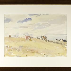 2311 - Beach Scene Pevensey by Llewellyn Petley-Jones (1908-1986)