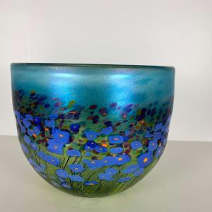 5072 - Hand Blown Glass Bowl