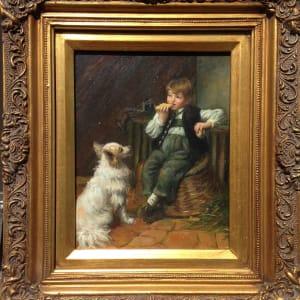 1022 - Boy With Dog