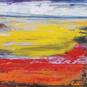 0478 - Orange, Red, Yellow by Matt Petley-Jones