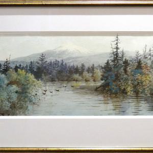 2124 - Untitled landscape by Thomas Harrison Wilkinson (1847-1929)