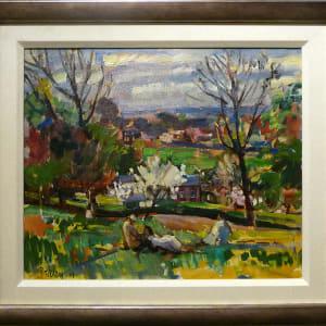 0293 - Spring, Richmond by Llewellyn Petley-Jones (1908-1986)