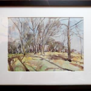 2392 - Untitled - Bare trees by Llewellyn Petley-Jones (1908-1986)