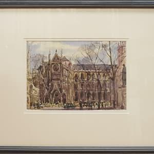 2380 - Westminster Abbey by Llewellyn Petley-Jones (1908-1986)