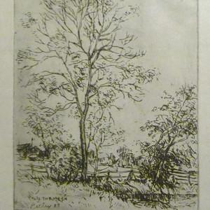2588 - On the Meon by Llewellyn Petley-Jones (1908-1986)
