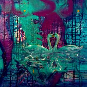 b) Calm Communion by Kathleen Katon Tonnesen