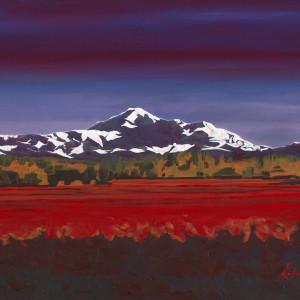 a) Cranberry Tide by Kathleen Katon Tonnesen