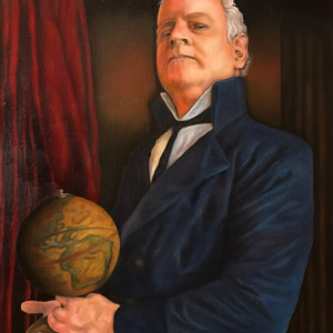 A Man And His Globe