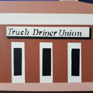 Truck Driver Union by Liz Mares