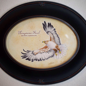 Ferruginous Hawk by Jessica Glenn