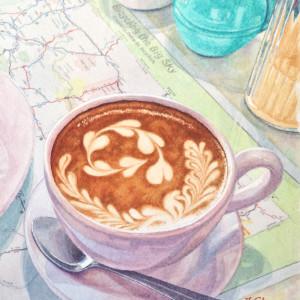 Love you a Latte by Jessica Glenn