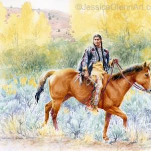 Wary Scout by Jessica Glenn