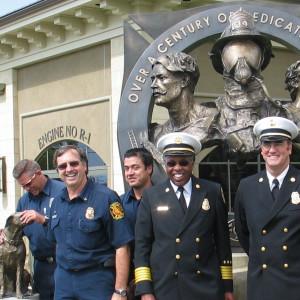National City Fire Headquarters by Richard Becker