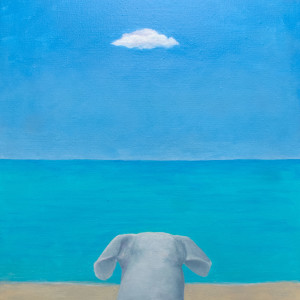 Dog Beach II by Richard Becker