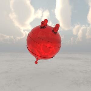 Balloon Cow by Richard Becker