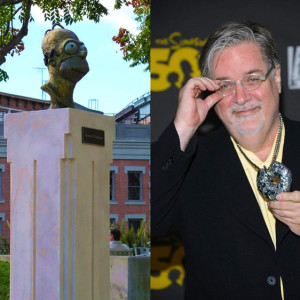 Homer Simpson at 20th Century Fox by Richard Becker