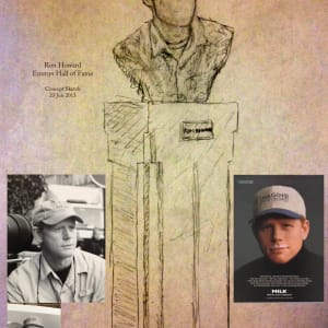 Ron Howard for Emmys Hall of Fame by Richard Becker