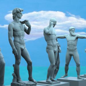 All the Romans as Tot by Richard Becker