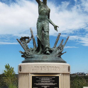 Liberation (POW Monument, US National Cemetery) by Richard Becker