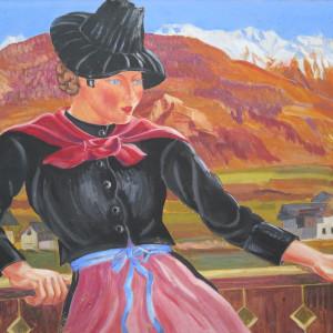 Saviésanne by LECOULTRE, John-Francis (1905-1990)